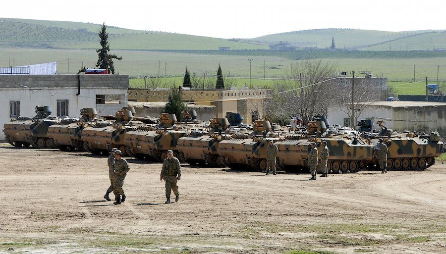 Turkey military deploy 1,000 troops into Syria to destabalise Kurdish communities