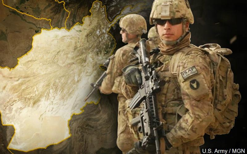 US army troops are trapped amid Afghanistan firefight