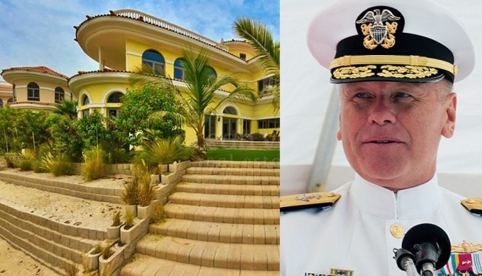 Top Navy Commander fired after revealing that Obama is about to purchase a multimillion dollar mansion in Dubai