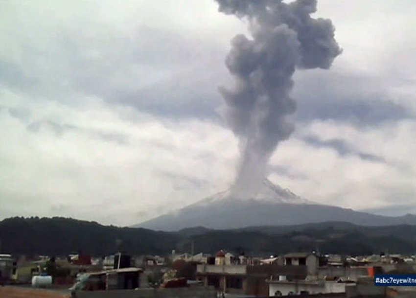 Mass evacuations have been ordered in Mexico as one of the world's most dangerous volcanoes is set to erupt