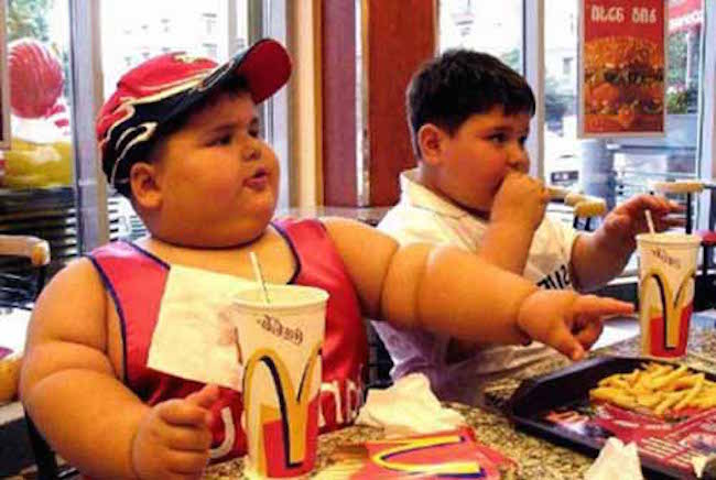 Shocking UN report says fast foods are to blame for global obesity pandemic amongst children