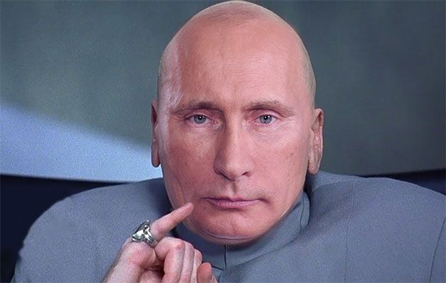 West attempt to demonise Putin