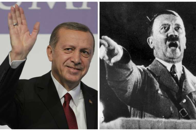 Turkey's Erdogan praises Hitler's Germany in controversial speech