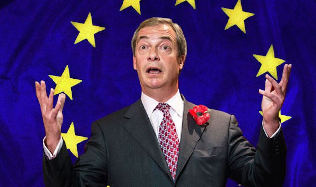 Nigel Farage says European 'rape crisis' is happening due to Europe surrendering