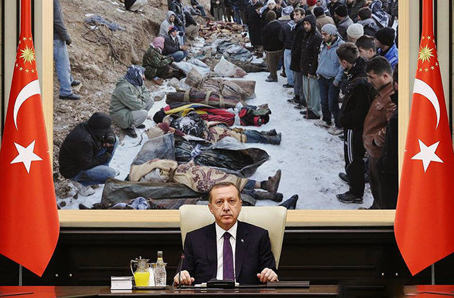 Obama stays silent on the genocide of Kurds by Turkey