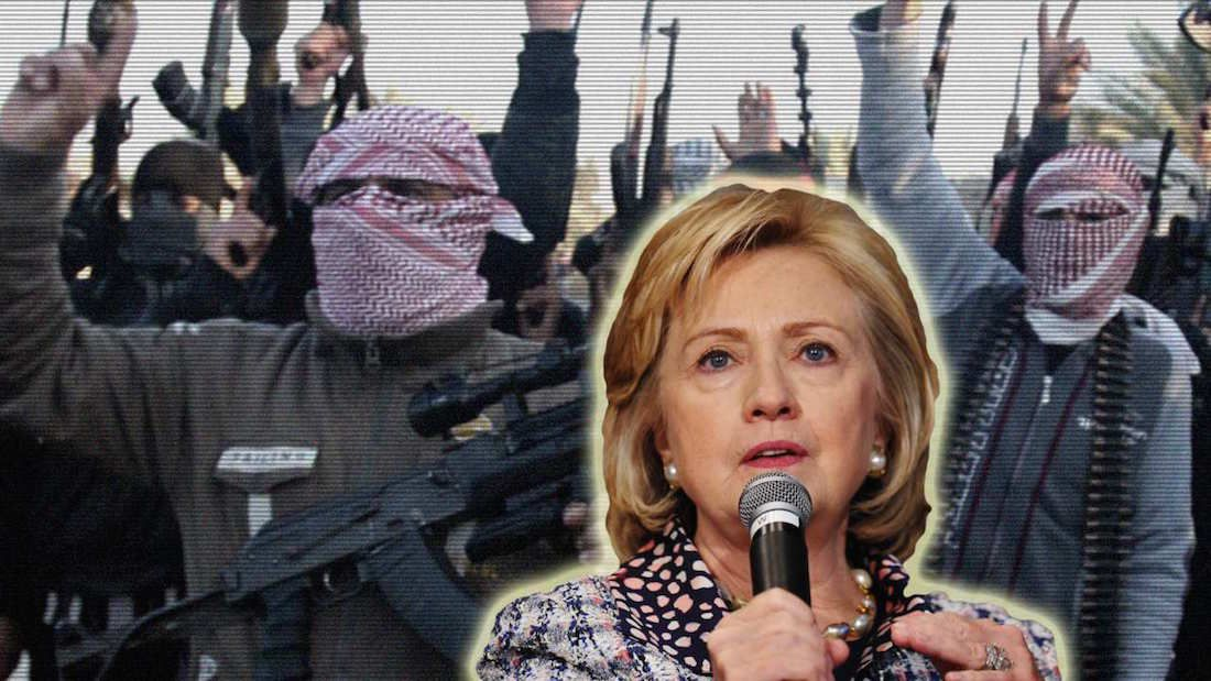 Hillary Clinton admits the American government created and funded terrorists