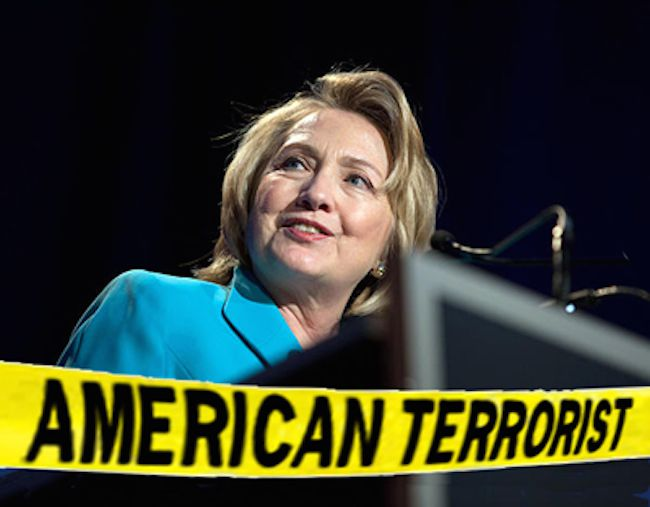Russia has added Hillary Clinton to its terror watchlist
