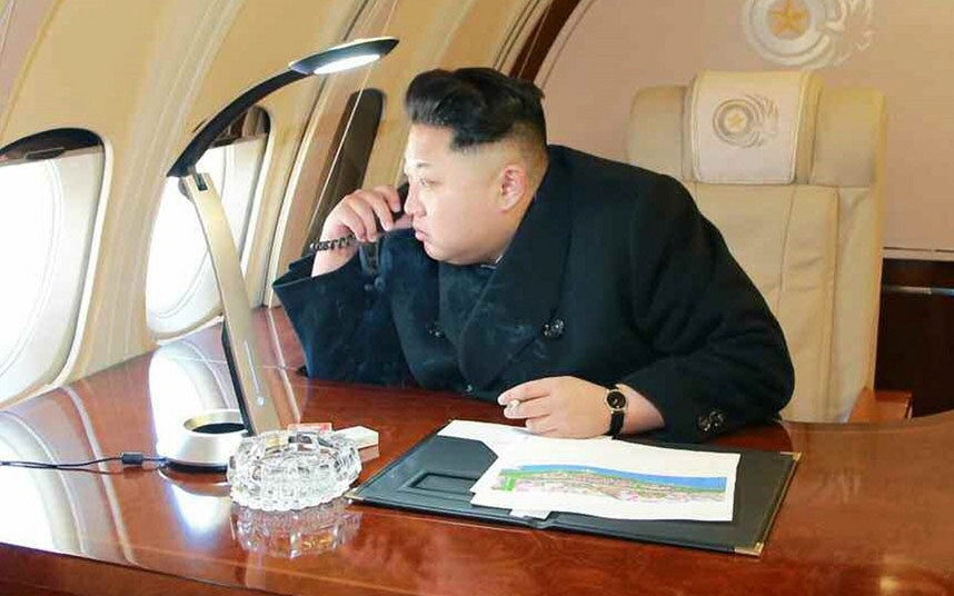 Kim Jong-un detained at Heathrow airport before being deported