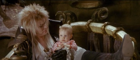 Jareth on his horned throne.