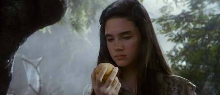 Sarah receives a peach that makes her hallucinate – a thinly veiled allusion to the drugs that are given to Monarch slaves during programming.