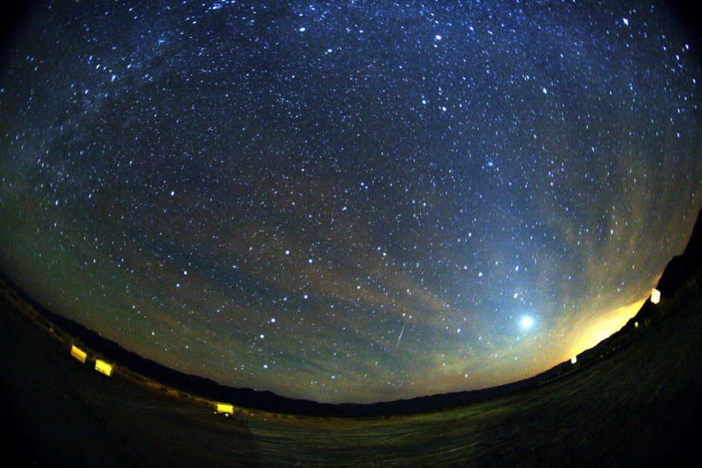Spectacular meteor shower scheduled for this Tuesday