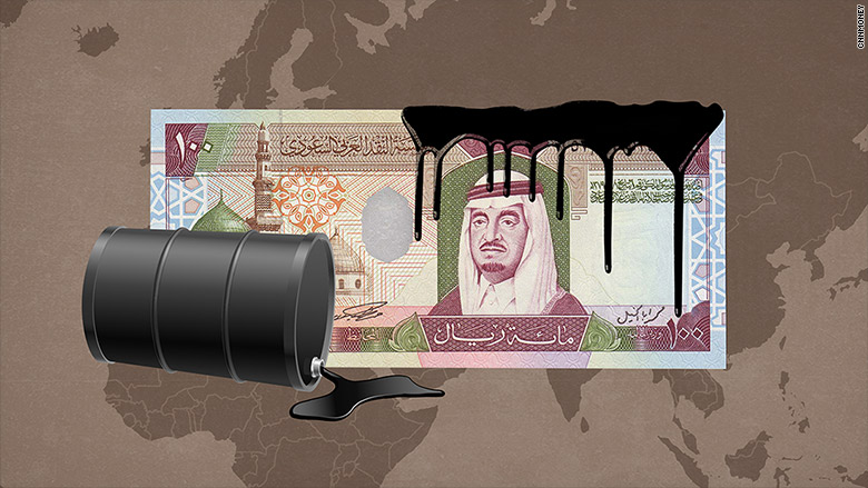 Stock markets in the Middle East crashed as Iran entered the oil market
