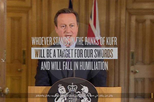 ISIS release new video targeting Britain, saying they will commit a Paris style terrorist act there soon