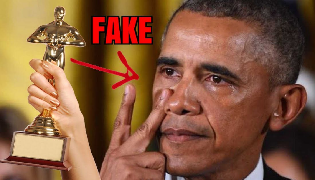 Obama sheds fake tears as he destroys the Constitution