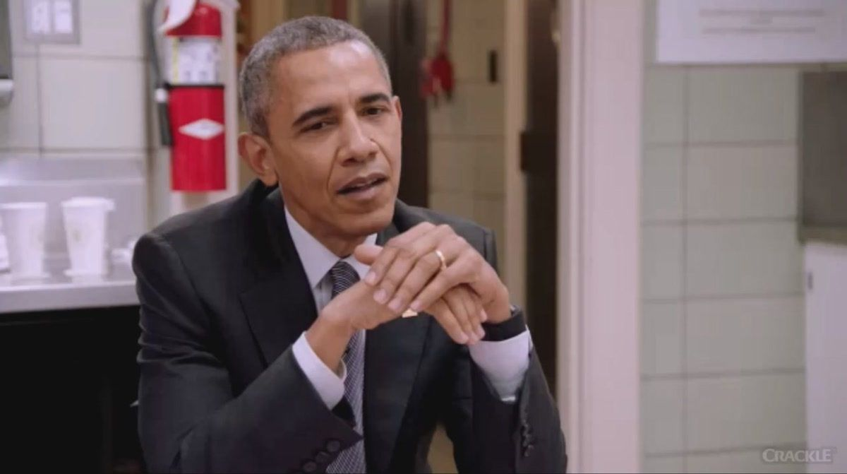 Obama tells Jerry Seinfeld that most world leaders are actually insane