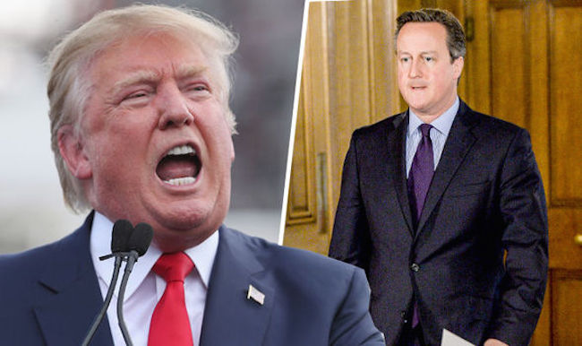 UK Parliament debate Donald Trump ban