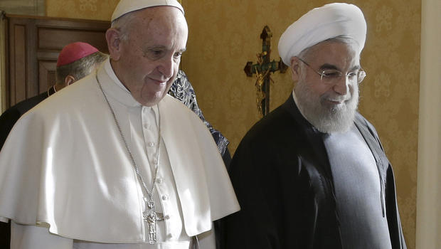 Pope Francis and Iranian President Rouhani announced that the 'end times' are nigh in historic meeting
