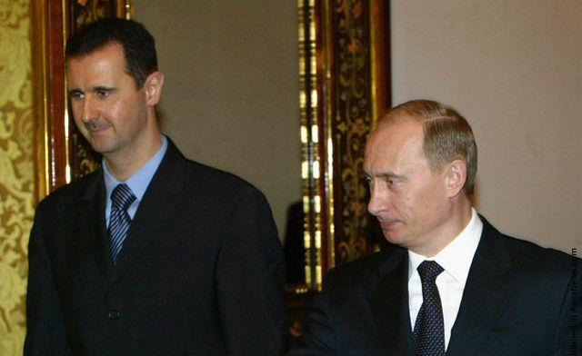 Putin says Russia may grant President Assad asylum