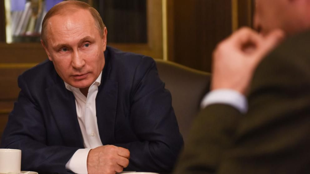 Putin criticizes the west's provocation in German interview