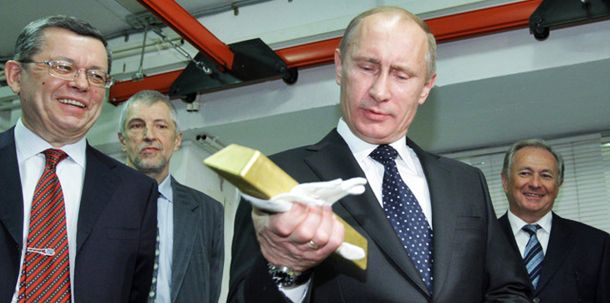 President Putin says the West needs to stop printing worthless cash