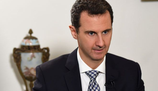 Syrian President Assad urges Turkey to stop aiding ISIS terrorists