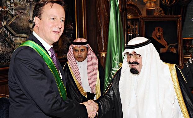 David Cameron Praises His Government Over Arms Sales To Saudi Arabia