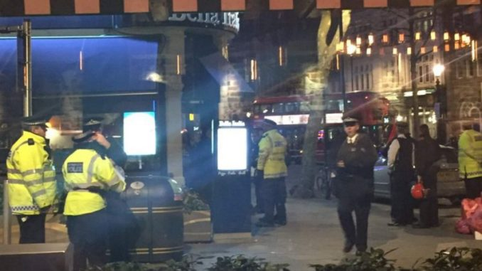 Hostage Situation At Central London Restaurant