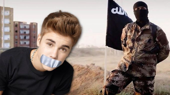 ISIS attempt to recruit Justin Bieber fans