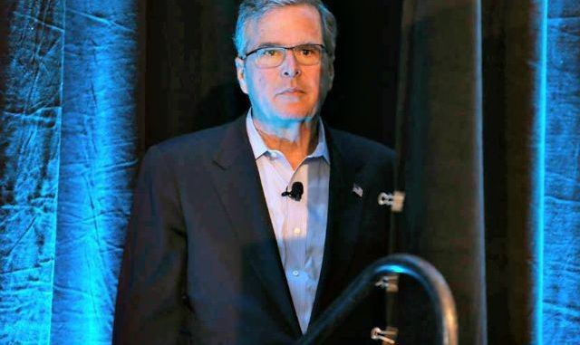 Jeb Bush mocks the redacted 28-pages missing from the official 9/11 report