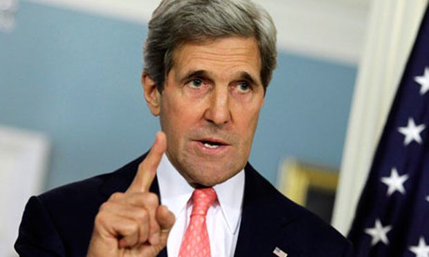 John Kerry: Up to 30,000 Ground Troops Needed For Syria Safe Zone