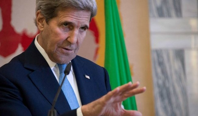 John Kerry is directly accused of 'creating ISIS' during an Italian press conference