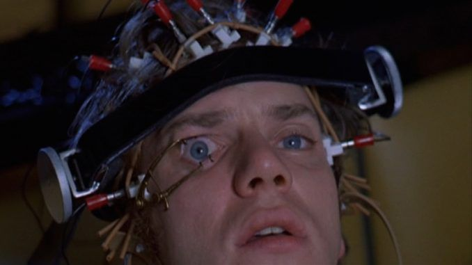 Actor Malcolm McDowell says that 'A Clockwork Orange' film is now becoming a reality