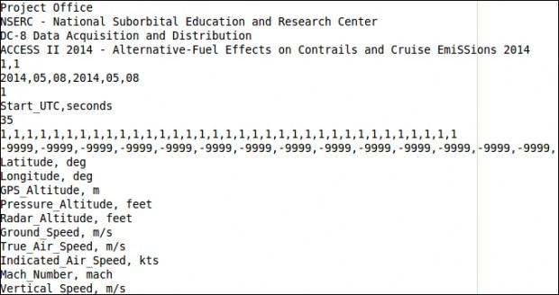 """Alternative-Fuel Effects on Contrails and Cruise EmiSSions"" project."