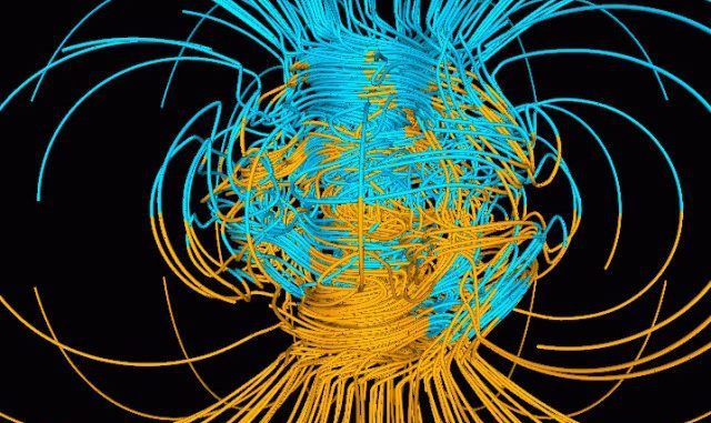 NASA say that the Earth is going to experience a full pole shift, with the poles reversing