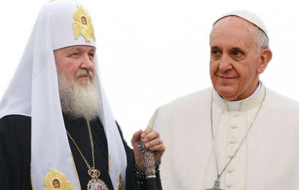 Pope Francis and Patriarch Kirill warn of coming New World War