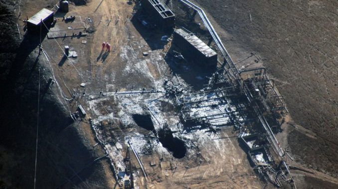 The gas leak in Porter Ranch, California has been temporarily capped says Southern California Gas Company