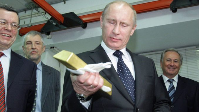 President Putin promises to NEVER stop the circulation of cold hard cash because he considers a cashless society to be a New World Order tactic to gain control over the public.