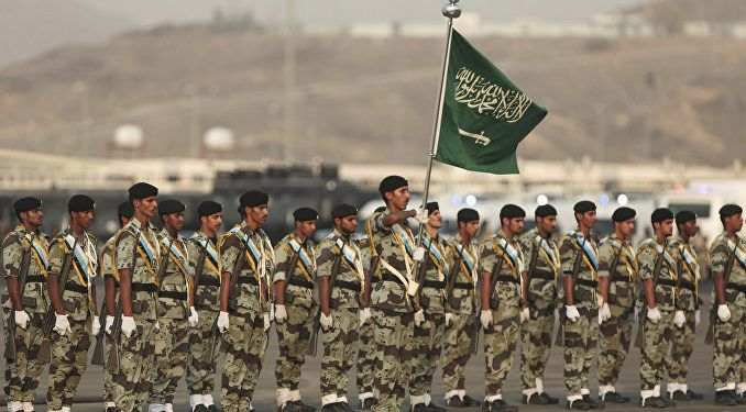 Saudi Arabia mobilise thousands of troops to Syria