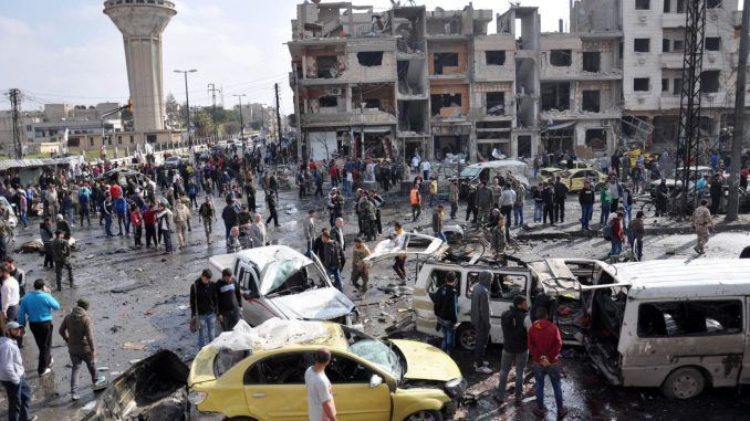 140 Dead In Multiple Blasts In Damascus & Homs in Syria