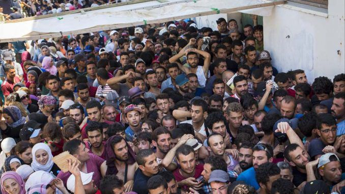 Syria say they may have to send 15 million more refugees to Europe, blaming Britain for the crisis