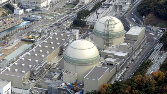 Japan: Nuclear Reactor Shuts Dow Three Days After Restart