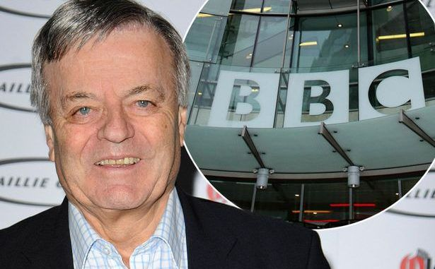 DJ Tony Blackburn Says The BBC Have 'Hung Him Out To Dry'