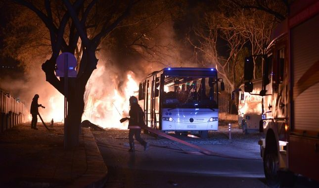 28 people killed in car bomb explosion in Turkey