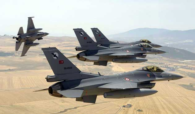 Turkish Bombers Hit PKK Positions In Northern Iraq