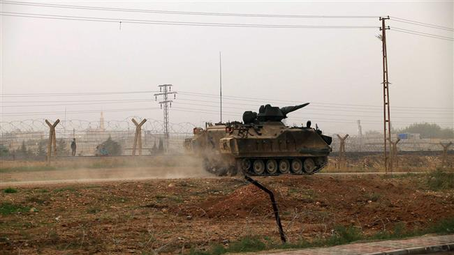 Turkish Forces Shell Kurdish Targets In Northern Syria