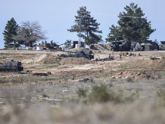 Russian TV Crew Films Turkish Military Build Up On Syrian Border
