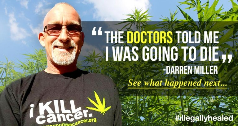 Man Cures Terminal Lung Cancer With Cannabis Oil - News Punch