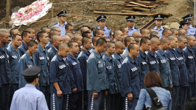 Public outrage after it is revealed that China routinely harvests the organs of political prisoners while they're alive