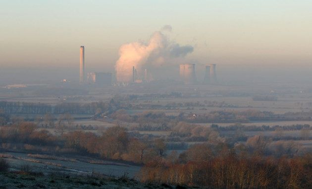 Major Incident Declared At Didcot Power Station In Oxfordshire