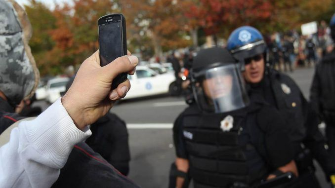 Citizens who film cops could face arrest, an appeals court has said